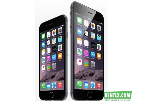 I Phone 6 and 6+ On Rent in Mumbai