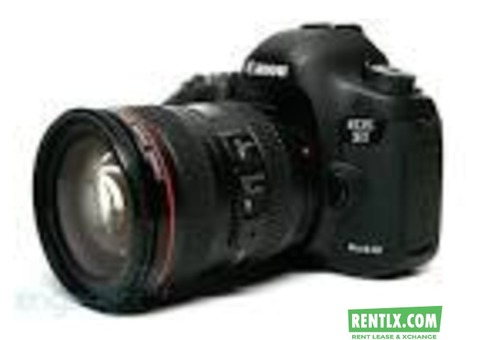 Canon 5d Mark Three For Rent in Mumbai