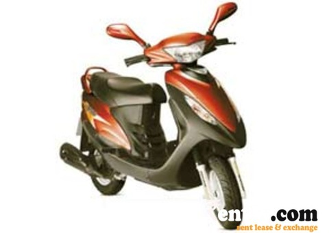 Two wheelers on rent in Bangalore