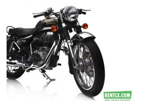 Bullet 350/500 for rent in Kochi