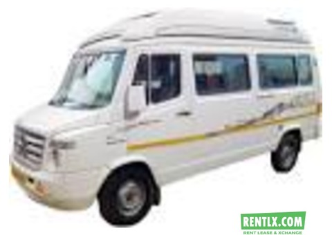 Tempo traveller for rent in Bangalore