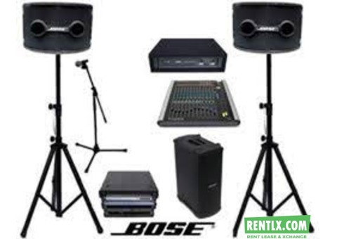 Music System on Rent in Mumbai