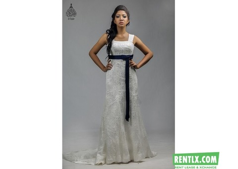 Wedding gowns on Hire in Kochi