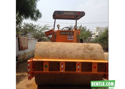 Road roller On Rent in Hyderabad