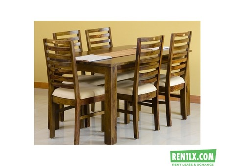 Alexa 6 Seater Dining Package On Hire in Bangalore