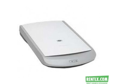Scanner and Printer on rent in Delhi