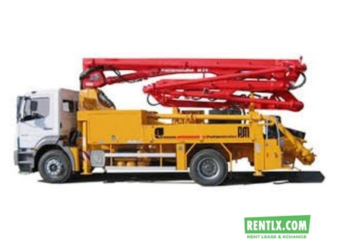 Construction Machine on Rent in Delhi