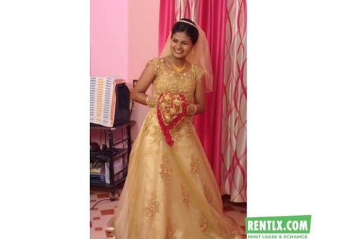 Wedding Frocks on Rent in Kochi