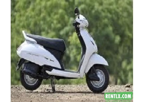 Activa on Rent in Dehradun