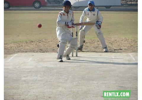 Cricket ground on rent in Delhi