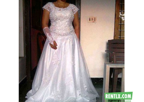 Wedding Frock On Rent in Kochi