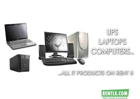 CORE 2 DUO / I3/I5 BRANDED DESKTOP ON RENT IN MUMBAI