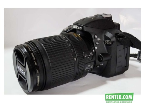 Nikon D5300 Wifi Dslr on Rent in Raipur