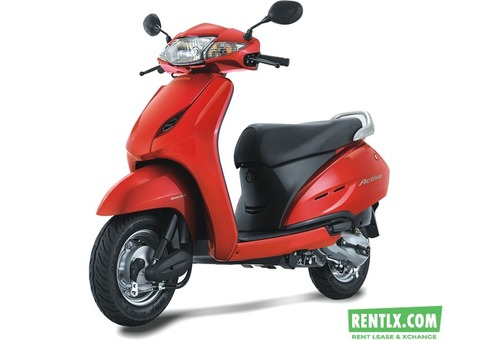 Activa on Rent in Chennai
