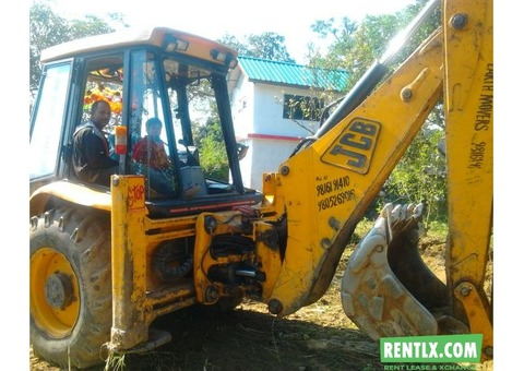 J C B HEAVY EARTH MOVER MACHINE ON RENT IN KANGRA