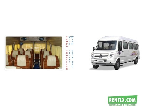 Tempo Traveller On Rent In Jaipur