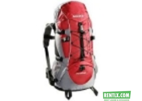 Trekking bagpack  On Rent in Bangalore