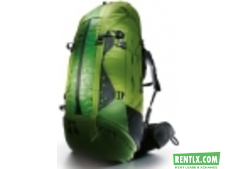 Backpacks On Rent in Bangalore