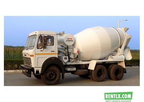 TATA Transit Mixer 2518 on rent IN Delhi