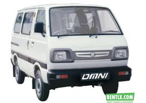 Maruti Suzuki Omni On Rent in Kota