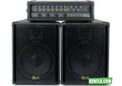 Sound system on rent In Vadodara