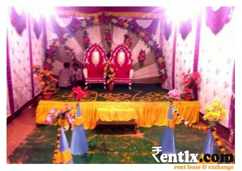 Tent and decorations - Jhunjhunu