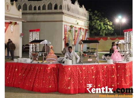 Catering services on Rent