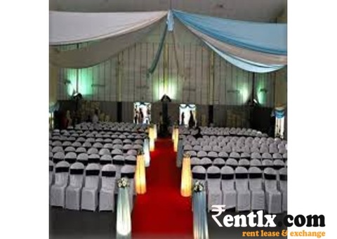 Caterers & Decorators on Rent