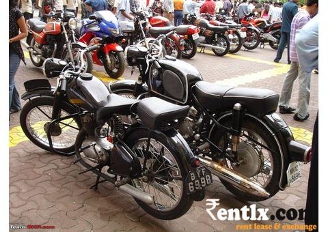 Classic Bikes Goa on Rent