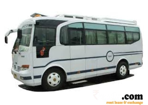 Travelr Mini Bus on Rent in Jaipur