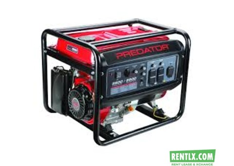Generator for rent in Manesar