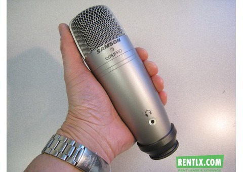 Studio Microphone For Rent in Chennai