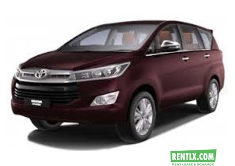 Toyota Innova on Rent in Madgaon