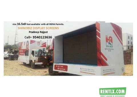 Led video van on rent in lucknow