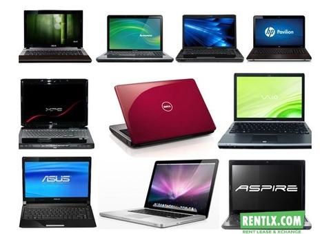 Laptop On Rent in Bangalore