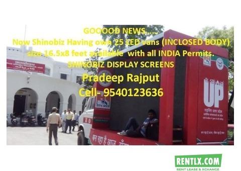 Led Mobile Van on Hire in Delhi