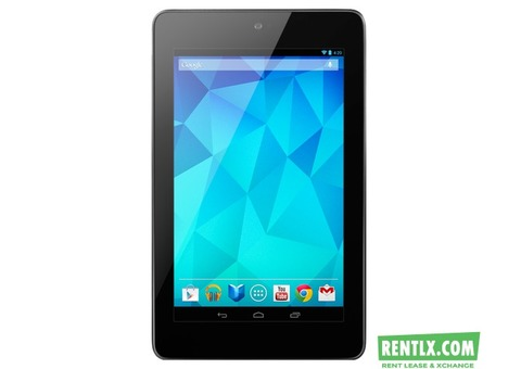 Google Nexus 7 On Rent In Pune