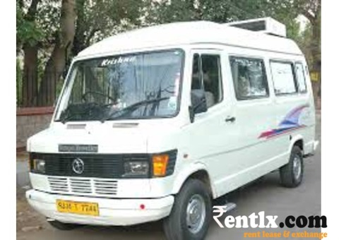 Van & Tempo Traveller on rent in Bangalore