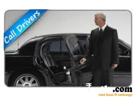 call drivers for rent at Bangalore
