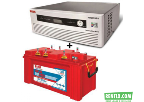 Inverter on rent in Gurgaon