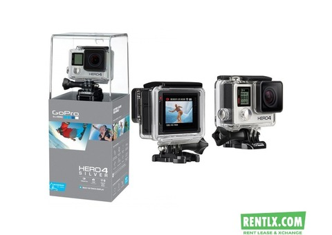 GoPro Hero 4 Silver Action Camera for Rent in Noida
