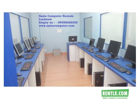 Computer rent in lucknow