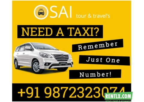Car and taxi on Rent in Chandigarh