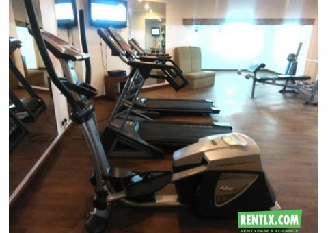 Fully equipped gym space available for rent in Bengaluru