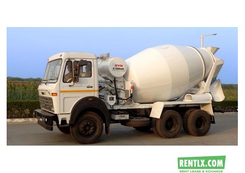 Transit Mixer on Rent in Delhi