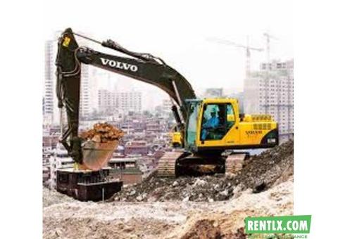Excavators on Hire in Kolkata