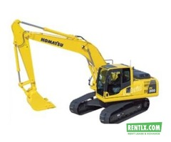 Excavator on Rent in Hyderabad