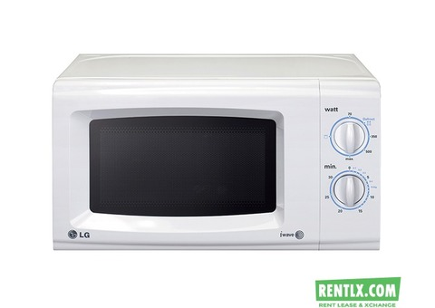 New LG Microwave on Rent in Mumbai