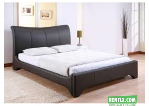 A Queen Size Bed on rent in Bangalore