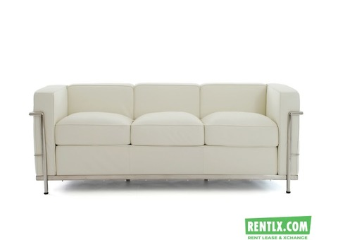 Three seater Sofa on Rent in Bangalore